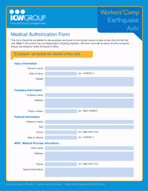 mpn authorization form
