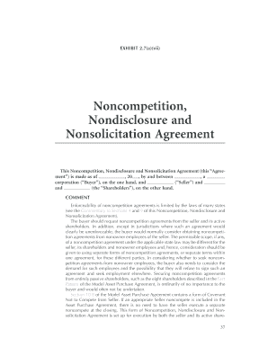 Non competition nondisclosure and nonsolicitation agreement form non competition nondisclosure and nonsolicitation agreement form platinumwayz