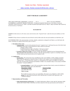 downloadable purchase agreement form