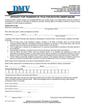 affidavit example Forms and Templates - Fillable & Printable ...
