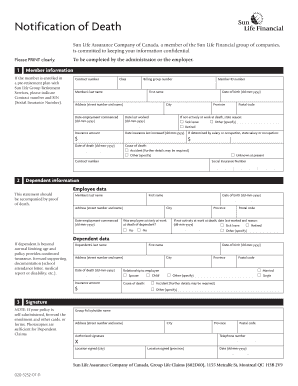 Sun Life Assurance Claim Forms - Fill Online, Printable ...