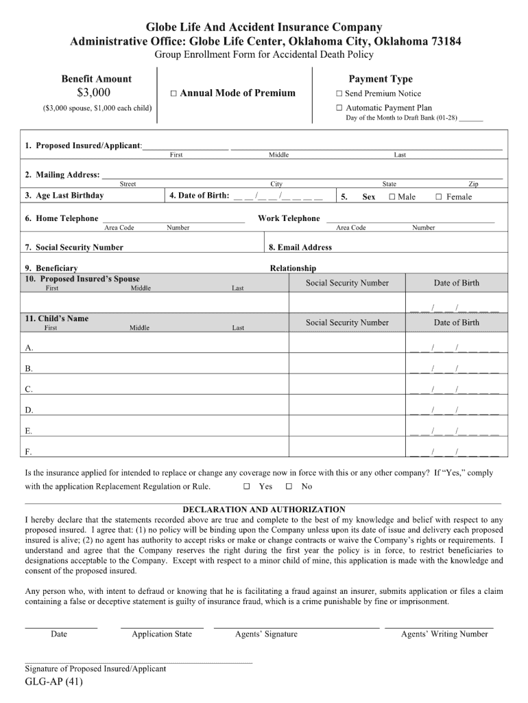 Globe Life Insurance Claim Forms - Thismylife Lovenhate