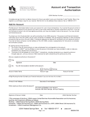 usaa account transfer forms