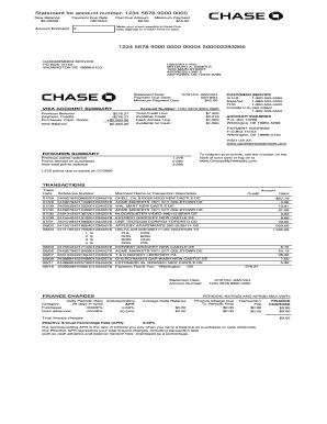 bank statementpdf fill online printable fillable blank pdffiller. Black Bedroom Furniture Sets. Home Design Ideas