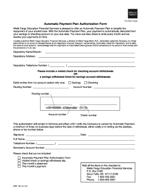 Automatic Payment Authorization Form - Fill Online, Printable ...