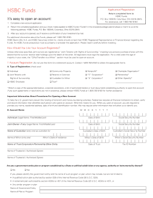 hsbc credit card application form fill online printable fillable