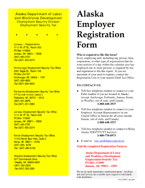 alaska employer registration form 2007