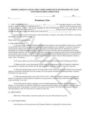 promissory note template rsa form