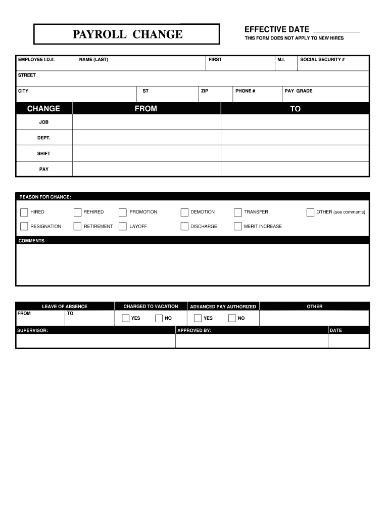 edit pay roll on word document