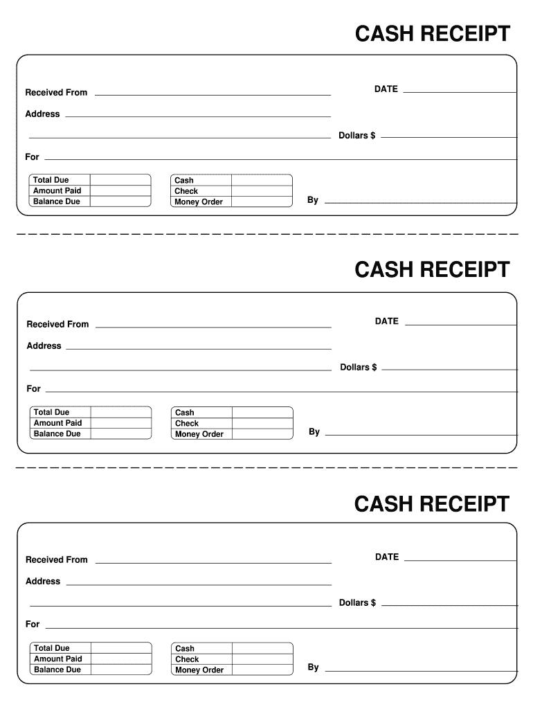 photo about Printable Receipt Template titled Receipt Template - Fill On line, Printable, Fillable, Blank