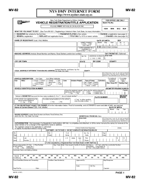 Ny Dmv Registration Form >> 19 Printable Nys Dmv Registration Form Templates Fillable