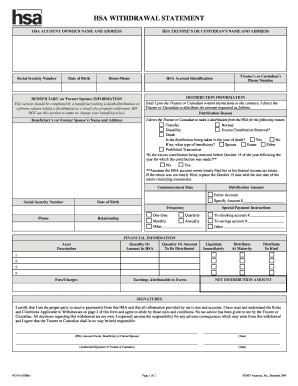 Form 1099-SA, Distributions from an HSA, Archer MSA, or ... |Hsa Distribution Form