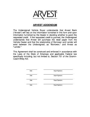 Arvest Pdf - Fill Online, Printable, Fillable, Blank | PDFfiller