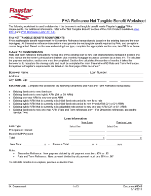 Printables Fha Streamline Refinance Worksheet what is fha netting authorization form fill online printable related content fha