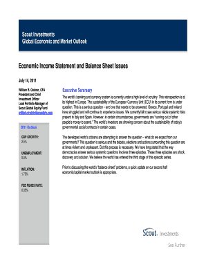 sample income statement balance sheet form