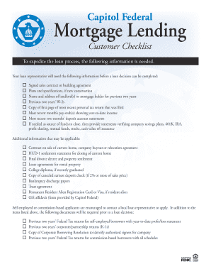 pp mortgage form