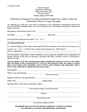 Georgia Form T 22c Fill Online Printable Fillable