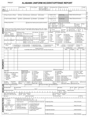 alabama incident offense report - Isken kaptanband co