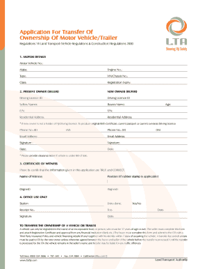 Land Transport Authority Fiji Forms - Fill Online, Printable ...
