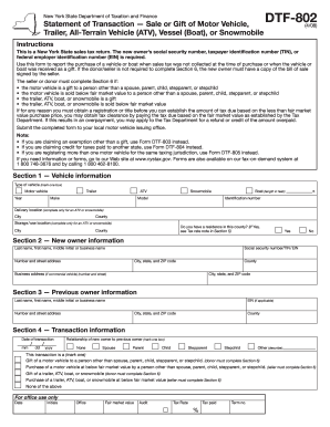 Dtf 802 Blank Form - Fill Online, Printable, Fillable, Blank ...