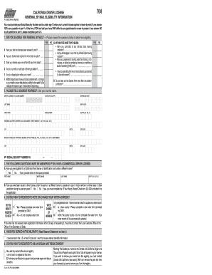 2011 Form Ca Dmv Dl 410 Fo Fill Online Printable