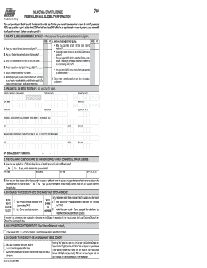 2011 Form CA DMV DL 410 FO Fill Online, Printable, Fillable, Blank ...