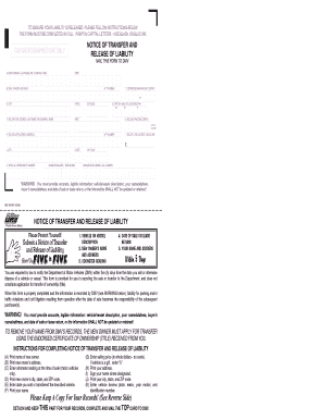 Ca Dmv Release Of Liability >> Reg 138 - Fill Online, Printable, Fillable, Blank | PDFfiller