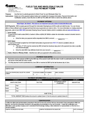 Virginia Auto Sales Tax >> Virginia Dmv Ft474 Fill Online Printable Fillable Blank