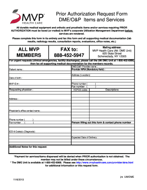 Mvp Medicaid Prior Authorization Form
