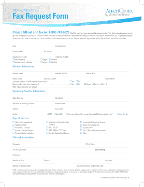 fax authorization form