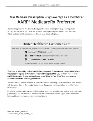 Aarp Medicarerx Preferred Fax Number Fill Online Printable Fillable Blank Pdffiller