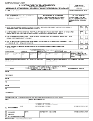 Faa Form 8610 1 Fillable - Fill Online, Printable, Fillable, Blank ...