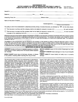 Fmcsa Form Qfr - Fill Online, Printable, Fillable, Blank | PDFfiller