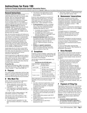 Ca Form 199 2006 - Fill Online, Printable, Fillable, Blank   PDFfiller