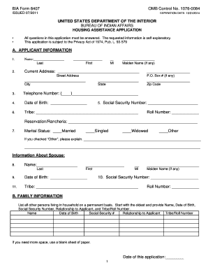 Bia Form 6407 - Fill Online, Printable, Fillable, Blank | PDFfiller
