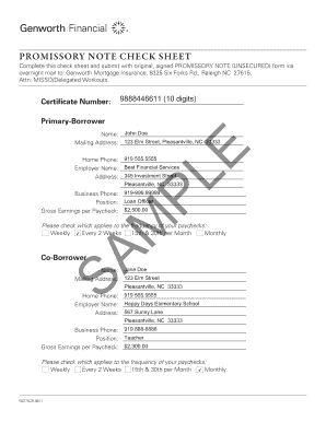 sample promissory note pdf form