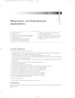 photo about Free Printable Cohabitation Agreement titled 45 Printable Cohabitation Settlement Varieties and Templates