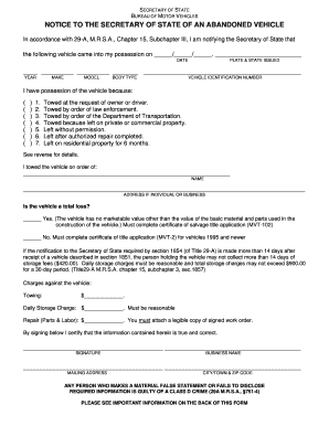 Bill of sale form maine vehicle bill of sale templates for State of maine motor vehicle bill of sale