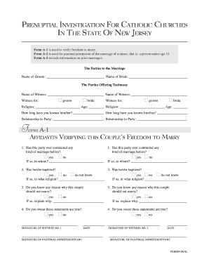Pre nuptial investigation form fill online printable fillable pre nuptial investigation form platinumwayz