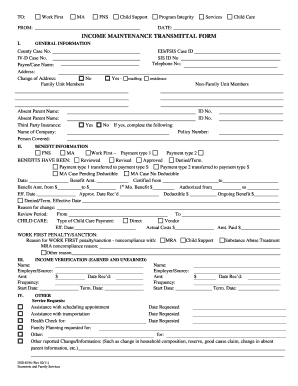 nc dss forms