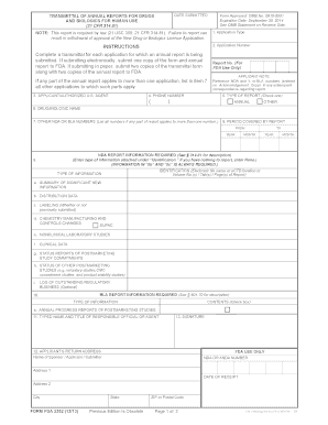 Fda Form 3455 Instructions - Fill Online, Printable, Fillable ...
