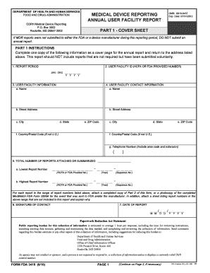 Fda Form 3419 - Fill Online, Printable, Fillable, Blank | PDFfiller
