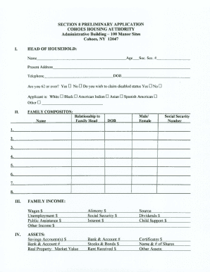 Section 8 Forms - Fill Online, Printable, Fillable, Blank | PDFfiller