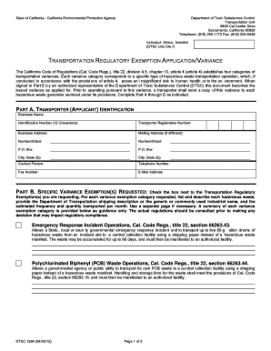 dtsc form 1294