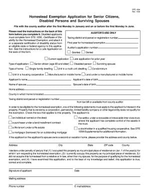 Homestead Exemption Montgomery County Ohio - Fill Online ...