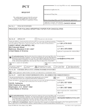 pct request form