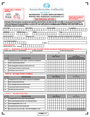 Individual Tax Form Templates - Fillable & Printable Samples for ...