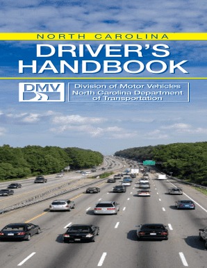 Print Out Dmv Drivers Handbook North Carolina 2011 - Fill Online, Printable, Fillable, Blank | PDFfiller