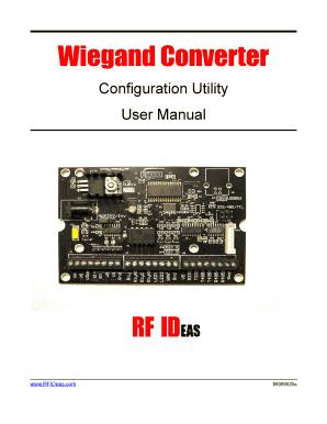 Wiegand Converter Online - Fill Online, Printable ...