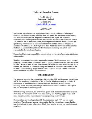 Procuration Letter Form